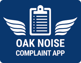 OAK noise complaint app icon