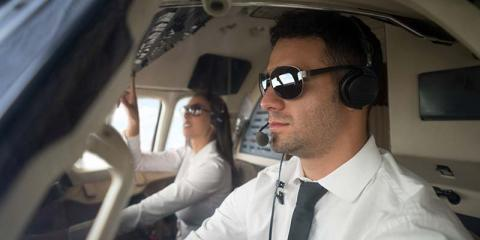 pilots flying an aircraft